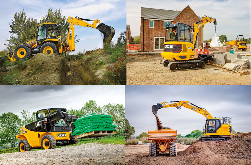 JCB GOES FOR FULL STAGE V COMPLIANCE WITH SPRING PRODUCT LAUNCH